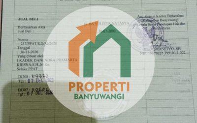 Dijual Cepat Rumah belakang Roxy tengah Kota Banyuwangi